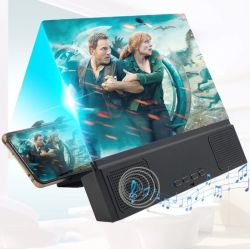 Bluetooth Speakerの中国Factory 12 Inch Screen Enlarged HD Magnifier反Blue Ray Mobile Phone Screen Magnifier Video Player