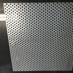 Galvanisiertes/perforiertes Metallaluminiumineinandergreifen überzieht Lautsprecher-Gitter, perforiertes Metallbildschirm-Tür-Ineinander greifen
