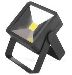 مصباح العمل اليدوي LED الخاص بنظام COB فحص البطارية الجافة 4AAA مصابيح عمل مغناطيس خمرة العمل