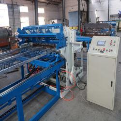 ベトナムの顧客のケージのためのPre-Cut金網の溶接のパネルシート機械