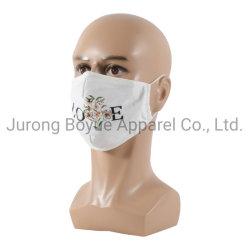 Outono Inverno Earloop ajustável de cuidados da pele de desenhos animados lavável algodão reutilizáveis personalizados Kid Maskes face com logotipo impresso