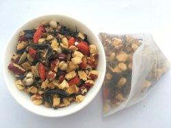 건강에 대한 혼합 곡물 중국식 차 백