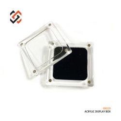 Caixa de Exibição de acrílico com tampa magnética bx029 Jóias Exibir Caixa de armazenamento para anel o bracelete Colar