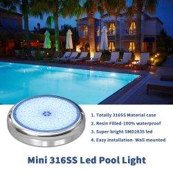 AC12V RGB 316ss Mini-LED Unterwasserswimmingpool-Licht