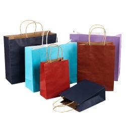 재활용 가능한 맞춤형 무광택 무광택 종이 자루 가방