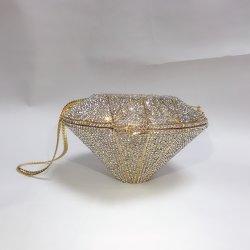 Tendência 2020 vestido cheio de personalidade de Diamante de luxo Crystal festas de casamento noite Bag Rhinestone Completo Senhoras Sacos de embraiagem
