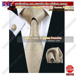 結婚式の好意の絹製ネクタイの人のタイ党ネクタイビジネスギフトの記念品のギフト(B8048)