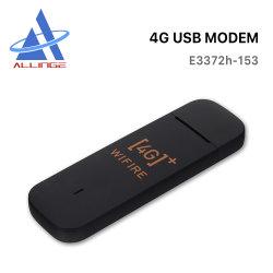 Lyngou LG050によってロック解除されるE3372h-153 150Mbpsモデムのネットワークカード3G 4G USBのDonglesの移動式ルーターの広帯域真新しい