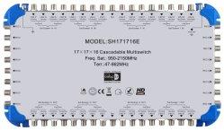 Sh171716 универсальных версии для Sat/кабельного телевидения спутникового Multi-Switch