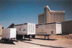 Generador de móviles Recipiente contenedor de almacenamiento de contenedores especiales Equipo