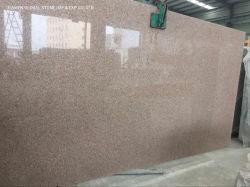 China Rosy Gloud Rosa Pesco brames G681 vermelho/marrom/rosa do granito para o interior da parede em sua bancada de cozinha decoração de piso
