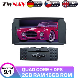 Lettore DVD radiofonico Android per l'unità capa stereo automatica di percorso Px6 64GB di GPS di multimedia dell'automobile del codice categoria C180/C200/C230 W204 del benz C di Mercedes