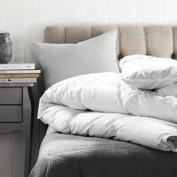 20 % vers le bas de la Courtepointe de canard blanc/couette /Comfortercomforter définit une literie de luxe