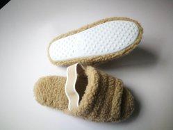 Los recién llegados cálida Faux Fur interiores o exteriores zapatillas sandalias de diapositivas