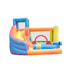 Коммерческие надувной замок прыжком отскок дом для детей играет