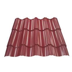 سعر المصنع Prepined Galvalume الصفيح الصلب Gi لفائف ألواح سقف حديدية مطلية بالزنك المعدن PPGI بسقف من الصلب ورقة