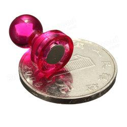Kühlraum-Magneten, Stoßpin-Magneten, magnetische Stifte der Farben-60pack