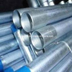 BS1387 filetés de tuyaux en acier galvanisé pour Watersuply