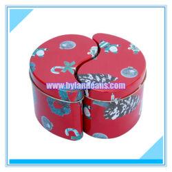 Estaño Metal irregulares caja de embalaje de regalo