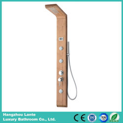 3개의 기능 대나무 목욕탕 강우 위원회 대나무 물자 (LT-M201)