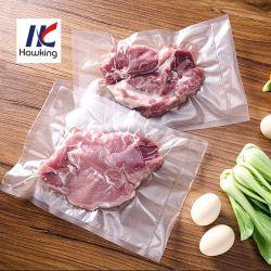 En nylon/PE Plastique Sac vide en relief l'emballage alimentaire
