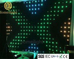 Rendere incombustibile il video panno di 2*4m LED per la prestazione della fase
