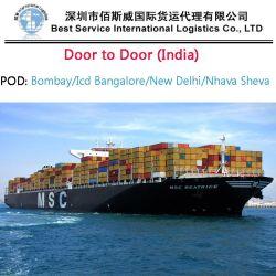 O transporte marítimo de Shenzhen para o Pireu pela Transportadora Hanjin