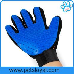 Verzorgen van het Huisdier van de Handschoen van de Hond van het Silicone van de fabriek het In het groot Goedkope