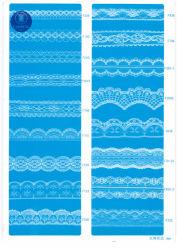 Nicht elastische Spitze für Kleidung/Kleid/Schuhe/Beutel/Fall F231-1 (Breite: 1.4CMM bis 24cm)