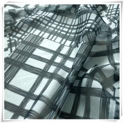 Polyester Chiffon Plaid Fabric Printing, Gewebe und Textil für Kleidungsstück