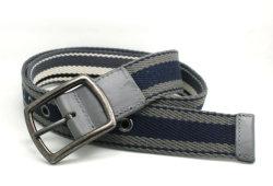 Tecido de algodão clássico da correia de moda de PU trançada Cky0258