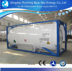 Lleno de argón líquido refrigerado por depósito ISO