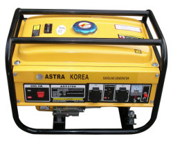 Astra Korea 2kw 5.5HP Gasoline Generator Luft-Cooled Cheap