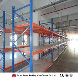 الشركة المصنعة لرف التخزين المعدني متوسط الحجم طويل المدى في المخزن