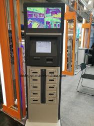 """Ecrã táctil de 21,5"""" Dedi scanner de impressões digitais a Estação de Carregamento de telefone rápido rápido"""