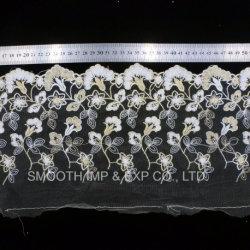 Form-Kleid-zusätzliche Garn-Stickerei-Spitze-Gewebe-Dekoration-Textilbaumwolle