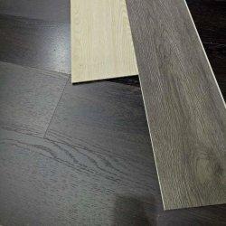 Clique em língua fácil de textura de madeira Piso flutuante de PVC para construção