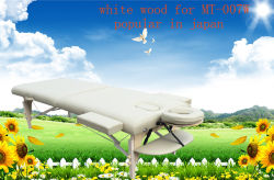 Full Accessories Mt 007W를 가진 백색 Beech Portable Massage Table