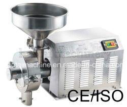 Industrieller Kaffee-Schleifer, Bohnenmehl, das Maschine, Kakaobohne-Schleifer herstellt