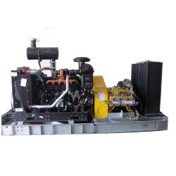 40000psi (2758bar) Bloco Diesel Super Máquina de jacto de água a alta pressão
