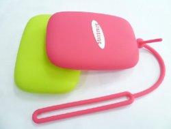 Cadeaux promotionnels Portable Mini Housse en silicone porte-clés clé