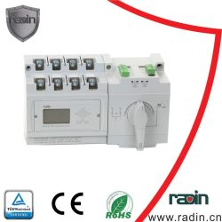 スイッチギヤの電源スイッチの自動転送スイッチ