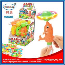 Nuevo diseño de la música y el flash de juguete de delfines con caramelos