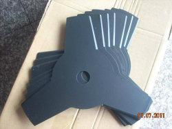 Emboutissage de métal de la machine de coupe de pièces en acier au carbone matériau spinning blade