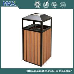 Eco Composites de plastique en bois Outdoor poubelle