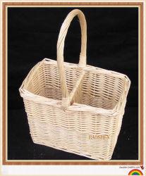 Vino di vimini del cestino del regalo dell'alimento del salice di picnic