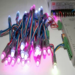 ارتفاع Quality12mm RGB LED فليكس بكسل، والمراقب المالي