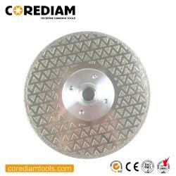 D125 Electroplated Diamond avec la bride de lame de scie