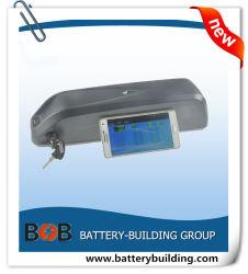 Bouteille d'eau 36V E-Bike Batterie au lithium avec Bluetooth BMS