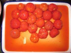 Томат консервы без кожуры помидора в 2840g